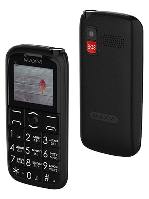 Мобильный телефон Maxvi В7 Black