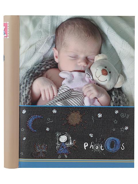 """Фотоальбом магнитный 20 листов Image Art """"Новорожденный (124)"""" 23х28 см, на спирали"""