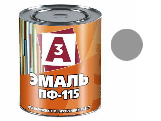 """Эмаль ПФ-115 """"А3"""" 1,9кг, серая"""