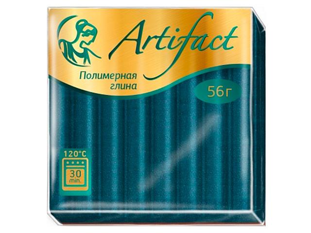 "Пластика ""Артефакт"" с блестками изумрудный, 56гр."
