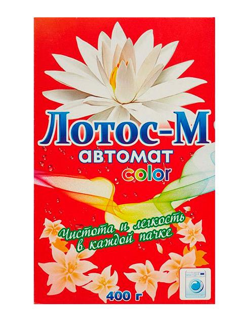 Лотос-М СМС Порошок-автомат Color 400 г