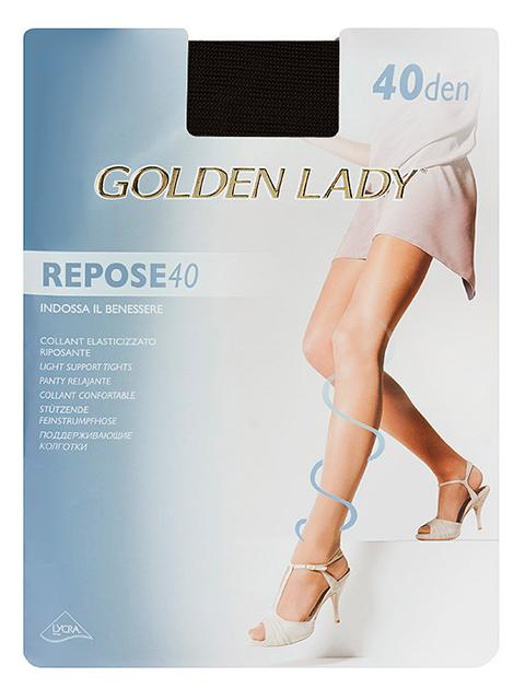 "Колготки женские Golden Lady ""Repose 40"" Nero 5-XL"