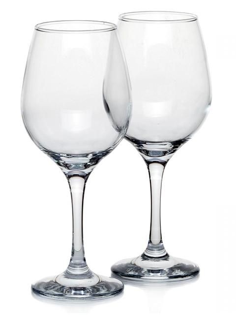 """Набор бокалов для вина Pasabahce """"Amber"""" 2 штуки, 365 мл, стекло"""
