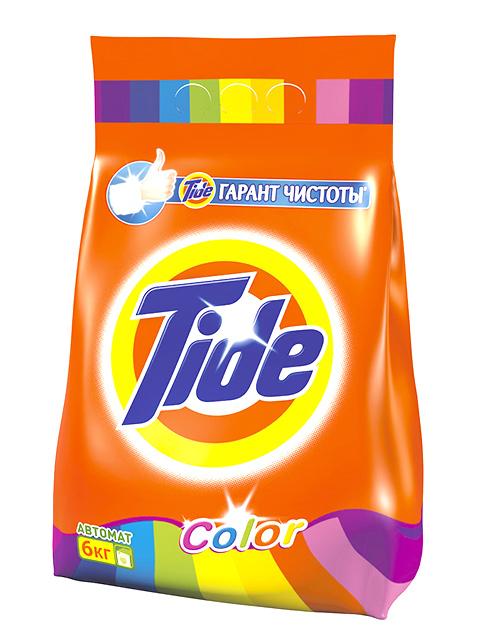 TIDE СМС Порошок-автомат Color 6кг