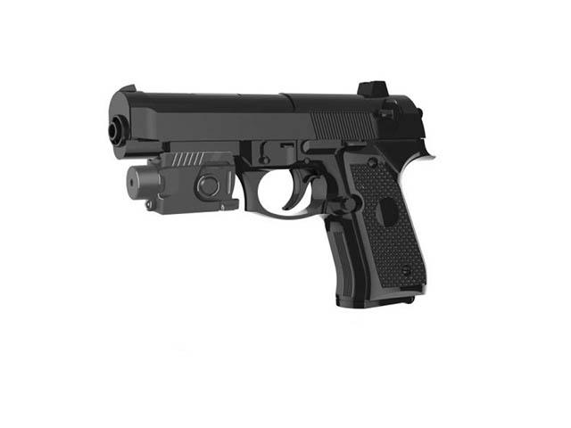 """Игрушечное оружие """"Пистолет с прицелом"""" в пакете"""