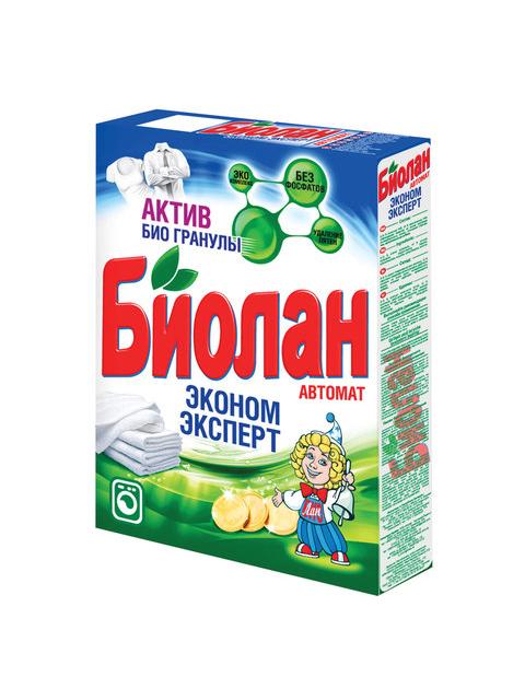 БИОЛАН СМС Порошок-автомат Эконом Эксперт 350 грамм