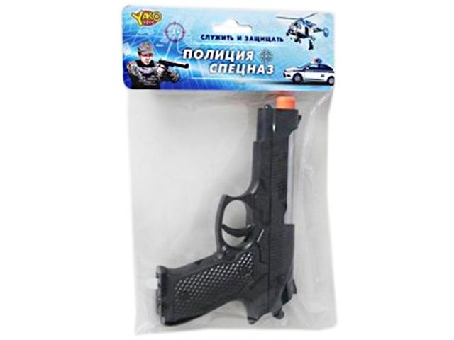 Игрушечное оружие Пистолет звуковой №2, в пакете
