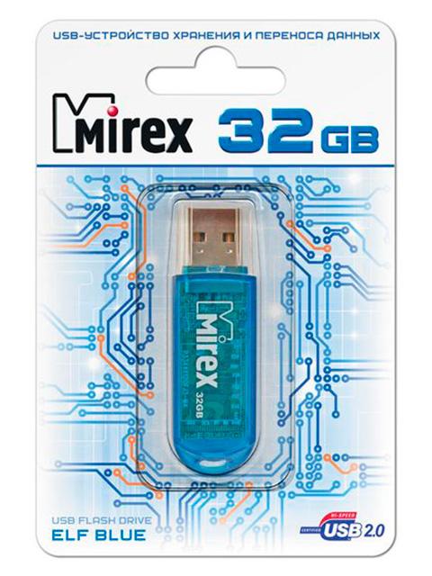 Флэш-диск MIREX 32 Gb ELF BLUE