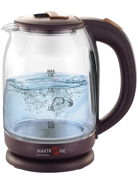 Чайник электрический MAXTRONIC MAX-401, 1,8л, 1800Вт