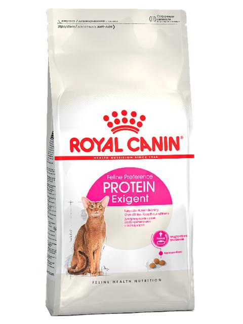 Корм РК Протеин Экзиджент 2кг (для привередливых кошек, особо чувствительных к составу корма)