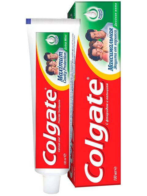Зубная паста Colgate Cavity Protection Двойная мята 100 мл
