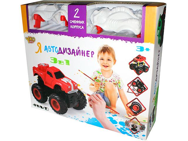 "Набор для творчества Yako Toys ""Я автодизайнер"" с красками"