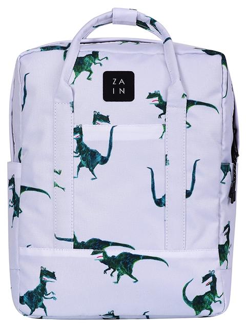 """Рюкзак-сумка подростковый ZAIN """"269 Dinosaur"""" 37х37, 1 отделение, на молнии"""