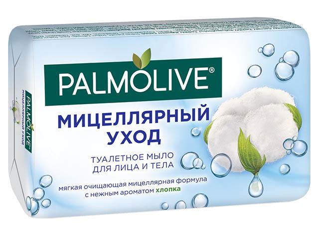 """Мыло туалетное Palmolive """"Мицеллярный уход"""" Хлопок 90г"""