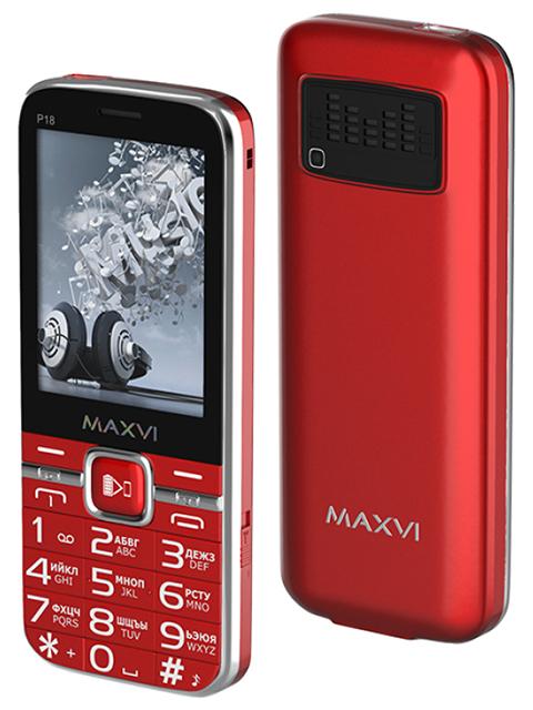 Мобильный телефон Maxvi Р18 Red