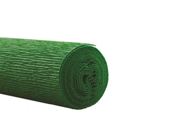Бумага крепированная флористическая Werola 50х250 128 г/м2, зеленая