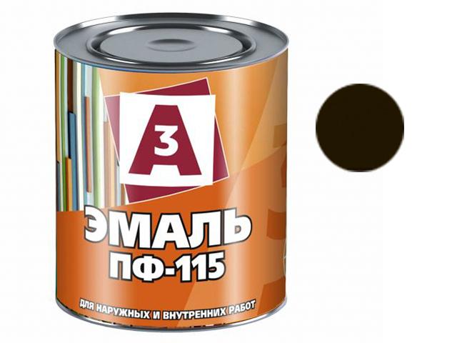 """Эмаль ПФ-115 """"А3"""" 1,9кг, черный"""