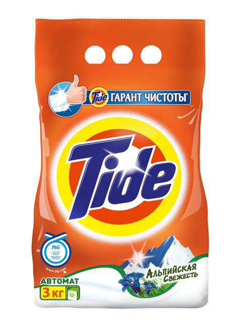 TIDE СМС Порошок-автомат Альпийская свежесть 3кг