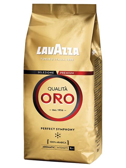 """Кофе в зернах LAVAZZA """"Qualita Oro"""" 250г, вакуумная упаковка"""