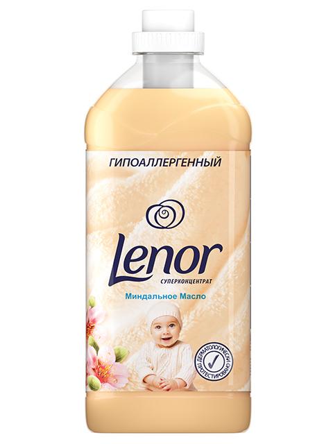 """Кондиционер для белья Lenor """"Миндальное Масло"""" суперконцентрат, 2л"""