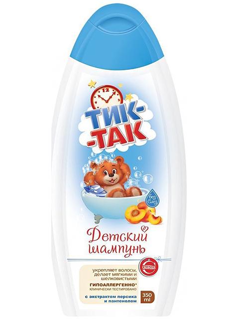 Шампунь детский Тик-Так, экстракт персика и пантенол, 350мл