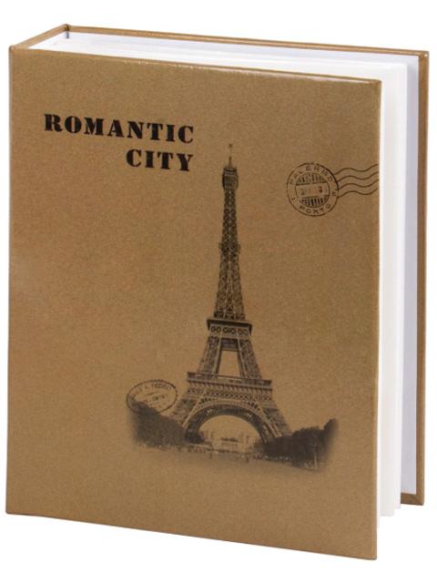 """Фотоальбом 200 фото 10х15 Brauberg """"Париж"""" обложка твердая"""