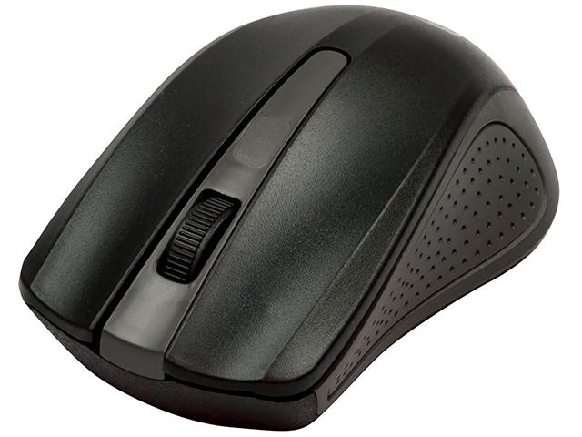 Мышь компьютерная Ritmix RMW-555 Black, беспроводная оптическая, черная