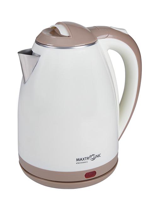 Чайник электрический MAXTRONIC МАХ -318А 1,8 л, 2200 Вт, закрытый нагревательный элемент, пластик