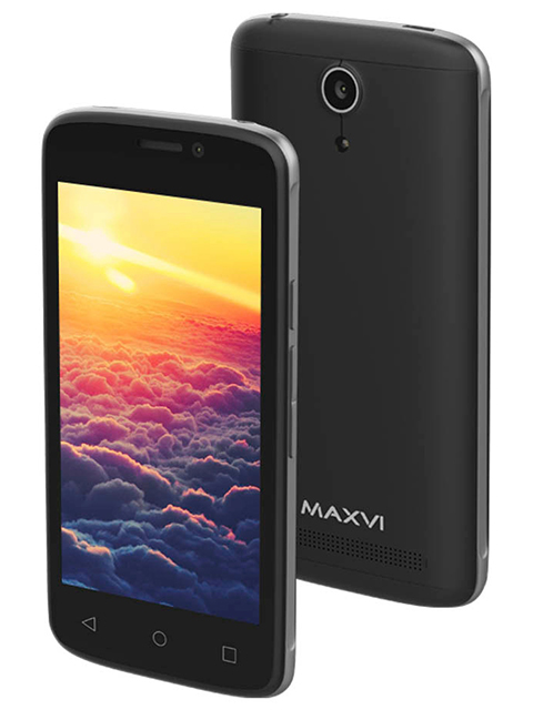 Смартфон Maxvi MS 401 SUNRISE, черный
