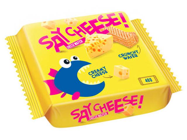 Вафли Say cheese! 48 г, с сыром