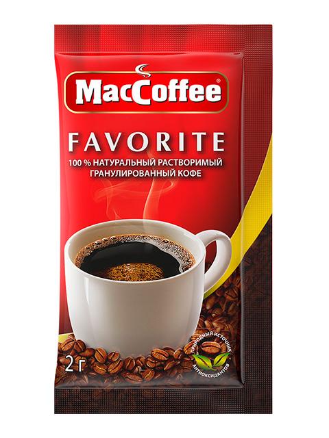 """Кофе растворимый """"MacCoffee Favorite"""" 2 г"""
