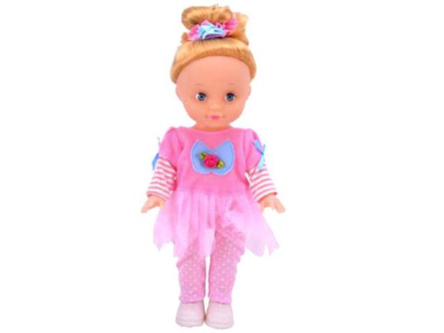 """Кукла """"Любимая кукла. В розовом костюме"""" 20 см., в пакете"""