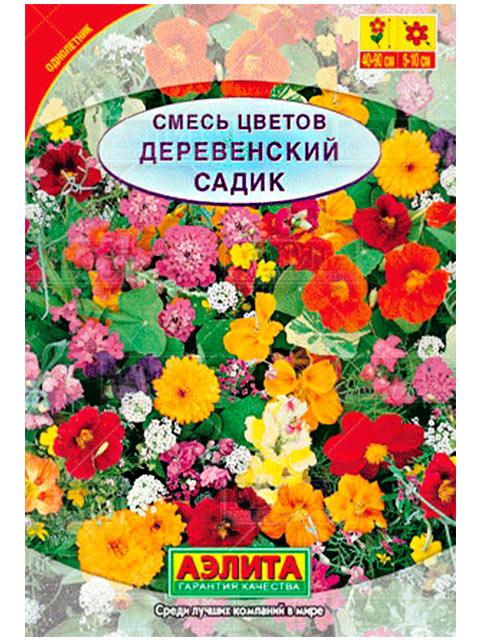 Смесь цветов Деревенский садик, ц/п, б/ф, 3 гр