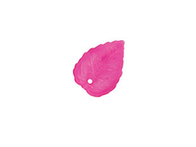 """Декоративные элементы Zlatka """"Листики. Фиолетовый №08""""  2.7 x 1.9 см, пластик, 10 штук в упаковке"""