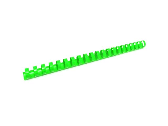 Пружина для переплета d= 6 мм пластиковая, зеленая
