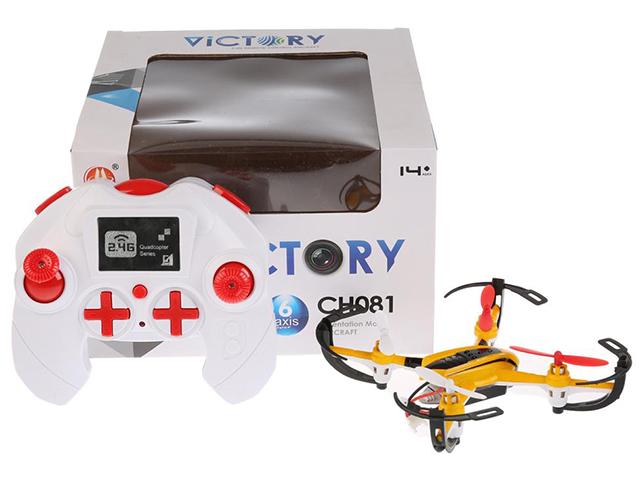 """Игрушка """"Квадрокоптер. Victory"""" радиоуправляемая, (свет, звук) камера, в коробке"""