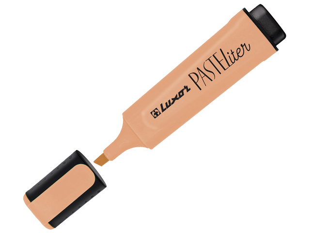 """Текстовыделитель Luxor """"Pasteliter"""" 1-5 мм, пастельный оранжевый"""