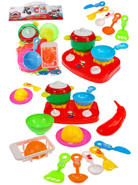 """Игровой набор посуды """"Кухонная утварь-4"""" в пакете, 33х23 см"""