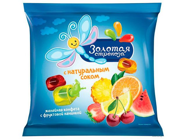"""Конфеты желейные """"Золотая стрекоза"""" 180 г"""