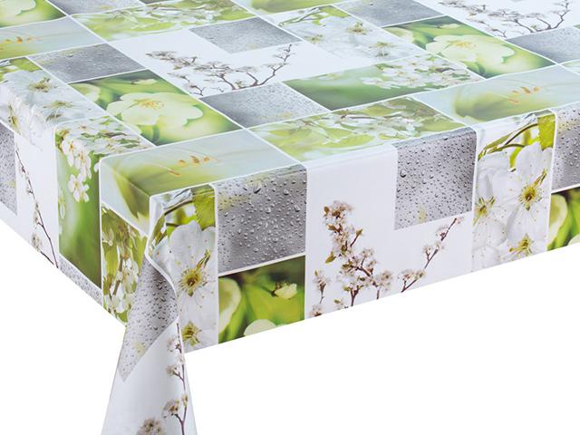 Клеенка столовая GRACE ткань с ПВХ покрытием 1,37м F8936 (цена за метр)