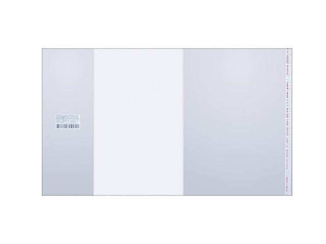 Обложка для тетрадей и дневников, универсальная, с липким слоем 215х360 мм, 80 мкр