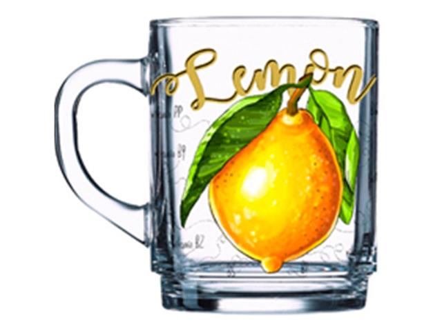 """Кружка """"Чайная. Полезный лимон"""" 320мл"""