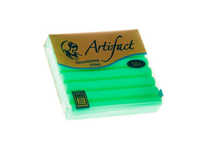 """Пластика """"Артефакт"""" шифон зелёное яблоко, 56гр."""