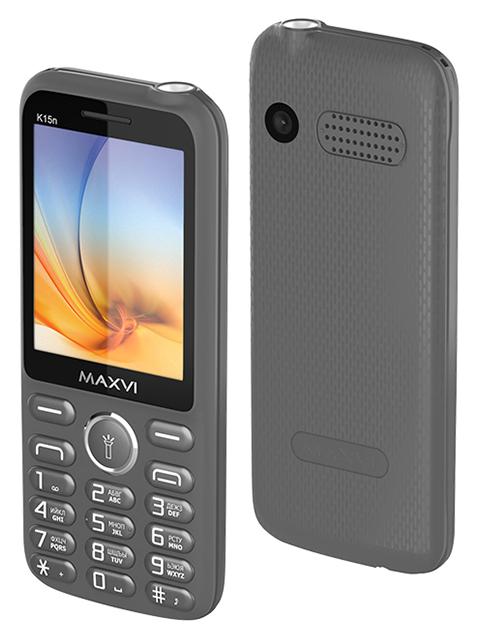 Мобильный телефон Maxvi К15n Grey
