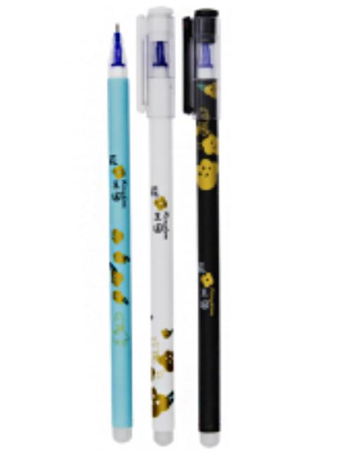 """Ручка """"пиши-стирай"""" гелевая Basir """"Kingdom"""" 0,35 мм, корпус цветной, синий"""