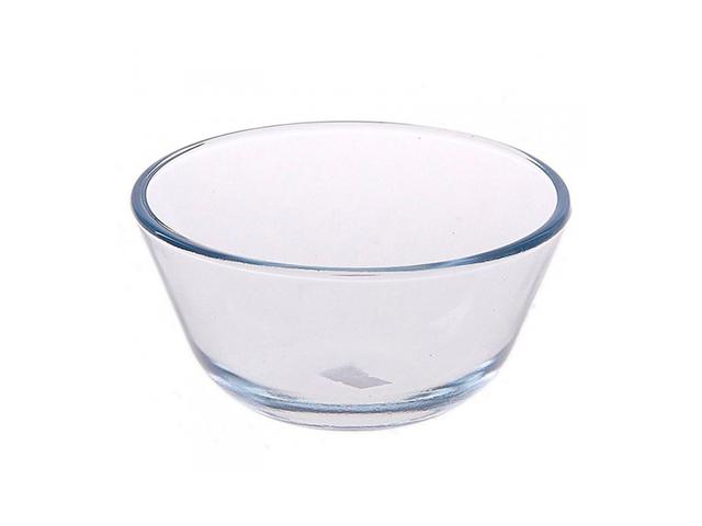 Миска 0,4 л, d-120 мм, термостойкое стекло