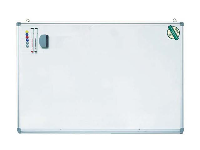 Доска магнитно-маркерная INDEX 45х60 см, металл.рама, информ.