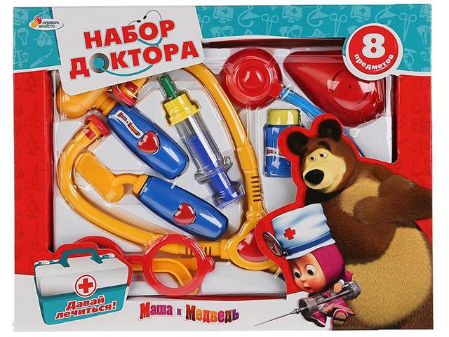 """Игровой набор доктора """"Маша и Медведь"""" в коробке"""
