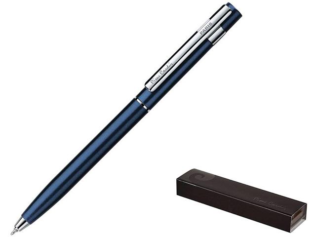 """Ручка шариковая с поворотным механизмом Pierre Cardin """"EASY"""" корпус ярко-синий, в подарочной упаковке"""