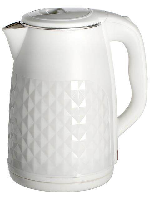 Чайник электрический MAXTRONIC МАХ-1011, 2,5 л, 1800 Вт, белый